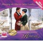 Portada de [(MARRYING THE MISTRESS)] [ BY (AUTHOR) JULIET LANDON, READ BY JENNY STERLIN ] [JULY, 2010]