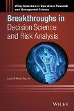 Portada de BREAKTHROUGHS IN DECISION SCIENCE AND RISK ANALYSIS (WILEY ESSENTIALS IN OPERATIONS RESEARCH AND MANAGEMENT SCIENCE) BY LOUIS ANTHONY COX JR. (EDITOR) (12-MAY-2015) HARDCOVER