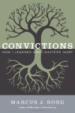 Portada de CONVICTIONS: HOW I LEARNED WHAT MATTERS MOST BY BORG, MARCUS J. (2014) HARDCOVER