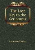 Portada de THE LOST KEY TO THE SCRIPTURES