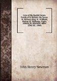 Portada de LIVES OF THE ENGLISH SAINTS: FAMILY OF ST RICHARD, THE SAXON: ST. RICHARD, KING; ST. WILLIBALD, BISHOP; ST. WALBURGA, VIRGIN, ABBESS; ST. WINIBALD, ABBOT (2ND. ED., 1844)