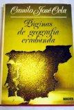Portada de PÁGINAS DE GEOGRAFÍA ERRABUNDA. 2ª ED.