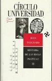 Portada de HISTORIA DE LAS IDEAS POLÍTICAS I Y II