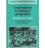 Portada de [(EXPLORATIONS IN HISTORICAL GEOGRAPHY: INTERPRETATIVE ESSAYS)] [AUTHOR: ALAN R.H. BAKER] PUBLISHED ON (FEBRUARY, 2011)