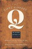 Portada de THE LOST GOSPEL Q: THE ORIGINAL SAYINGS OF JESUS BY BORG, MARCUS J. (1999) PAPERBACK