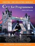 Portada de C++ FOR PROGRAMMERS (DEITEL DEVELOPER) BY DEITEL, PAUL J., DEITEL, HARVEY M. (2009) PAPERBACK