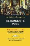Portada de EL BANQUETE, DE PLATON