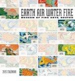 Portada de [(EARTH AIR WATER FIRE 2015 MINI WALL CALENDAR)] [ POMEGRANATE COMMUNICATIONS INC,US ] [JULY, 2014]