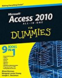 Portada de [(ACCESS 2010 ALL-IN-ONE FOR DUMMIES)] [BY (AUTHOR) ALISON BARROWS ] PUBLISHED ON (MAY, 2010)
