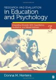 Portada de RESEARCH AND EVALUATION IN EDUCATION AND PSYCHOLOGY: INTEGRATING DIVERSITY WITH QUANTITATIVE, QUALITATIVE, AND MIXED METHODS 3RD (THIRD) BY MERTENS, DONNA M. (2009) PAPERBACK