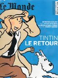 Portada de TINTIN LE RETOUR - LE MONDE HORS-SÉRIE N° 17 - DÉCEMBRE 2009/JANVIER 2010 - COUVERTURE BLEUE