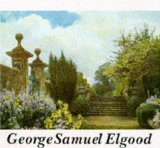 Portada de GEORGE SAMUEL ELGOOD: HIS LIFE AND WORK - WATERCOLOURS AND GARDEN DESIGN BY ECKSTEIN, EVE (1994) HARDCOVER
