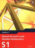 Portada de EDEXCEL AS AND A LEVEL MODULAR MATHEMATICS - STATISTICS 1 BY KEITH PLEDGER ET AL, ALAN CLEGG (2008) PAPERBACK
