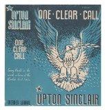 Portada de ONE CLEAR CALL / BY UPTON SINCLAIR