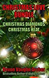 Portada de CHRISTMAS LOVE BUNDLE: CHRISTMAS DIAMONDS AND CHRISTMAS HEAT BY DEVON VAUGHN ARCHER (2015-10-25)