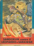 Portada de SANDOKAN CONTRO IL LEOPARDO DI SARAWAK.