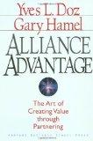 Portada de ALLIANCE ADVANTAGE: THE ART OF CREATING VALUE THROUGH PARTNERING BY DOZ, YVES L., HAMEL, GARY (1998) HARDCOVER