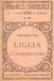 Portada de LIGEIA. LO SCARABEO D'ORO.