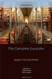 Portada de THE COMPLETE EURIPIDES: VOLUME II: IPHIGENIA IN TAURIS AND OTHER PLAYS (GREEK TRAGEDY IN NEW TRANSLATIONS) (2010-06-30)