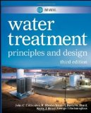 Portada de MWH'S WATER TREATMENT: PRINCIPLES AND DESIGN 3RD (THIRD) EDITION BY JOHN C. CRITTENDEN, R. RHODES TRUSSELL, DAVID W. HAND, KERRY PUBLISHED BY WILEY (2012)