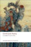 Portada de GREEK LYRIC POETRY (OXFORD WORLD'S CLASSICS) PUBLISHED BY OXFORD UNIVERSITY PRESS, USA (2008)