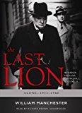 Portada de THE LAST LION: WINSTON SPENCER CHURCHILL, VOLUME TWO: ALONE, 1932-1940 BY WILLIAM MANCHESTER (2008-01-01)