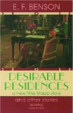 Portada de DESIRABLE RESIDENCES AND OTHER STORIES BY BENSON, E. F. (1992) PAPERBACK
