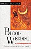 Portada de BLOOD WEDDING BY FEDERICO GARCIA LORCA (1989-09-01)