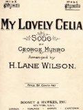 Portada de MY LOVELY CELIA, NO.2 IN G (SONG FOR VOICE & PIANO)