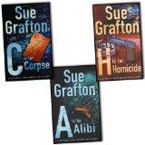 Portada de SUE GRAFTON KINSEY MILLHONE MYSTERIES 3 BOOKS COLLECTION PACK SET RRP: 20.97...