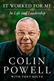 Portada de [IT WORKED FOR ME: LESSONS IN LEADERSHIP AND LIFE] (BY: COLIN L. POWELL) [PUBLISHED: MAY, 2012]
