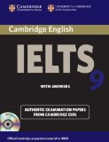 Portada de CAMBRIDGE IELTS 9 SELF-STUDY PACK (STUDENT'S BOOK WITH ANSWERS AND AUDIO CDS (2)): AUTHENTIC EXAMINATION PAPERS FROM CAMBRIDGE ESOL (IELTS PRACTICE TESTS) BY CAMBRIDGE ESOL ( 2013 ) PAPERBACK