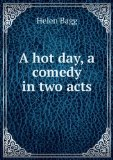 Portada de A HOT DAY, A COMEDY IN TWO ACTS