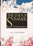 Portada de THE END OF SUMMER (TRANSLATION OF: NATSU NO OWARI) BY HARUMI SETOUCHI (1989-07-03)