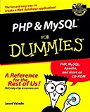 Portada de PHP AND MYSQL FOR DUMMIES? (FOR DUMMIES (COMPUTERS)) 1ST EDITION BY VALADE, JANET (2002) PAPERBACK