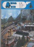 Portada de AMIGO TREN; REVISTA MENSUAL DE MODELISMO FERROVIARIO NUMERO 02 (FEBRERO 1981)
