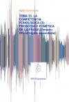 Portada de TEMA 33. LA COMPETENCIA FONOLÓGICA 3: PROSODIA O FONÉTICA DE LA FRASE.
