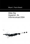 Portada de ATLAS SIG HYPARION, SL INFORME ANUAL 2004