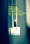 Portada de TEMA 34. LA COMPETENCIA ORTOGRÁFICA Y ORTOÉPICA. TEMARIO OFICIAL OPOSICIONES  INGLÉS EDUCACIÓN SECUNDARIA