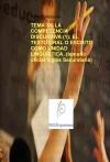 Portada de TEMA 36. LA COMPETENCIA DISCURSIVA 1: EL TEXTO ORAL O ESCRITO COMO UNIDAD LINGÜÍSTICA. TEMARIO OFICIAL INGLÉS SECUNDARIA