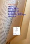 Portada de TEMA 37. LA COMPETENCIA DISCURSIVA 2 COHERENCIA Y COHESIÓN.  TEMARIO OPOSICIONES OFICIAL INGLÉS SECUNDARIA