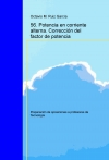 Portada de TECNOLOGÍA. OPOSICIONES A PROFESORES DE EDUCACIÓN SECUNDARIA. 56. POTENCIA EN CORRIENTE ALTERNA. CORRECCIÓN DEL FACTOR DE POTENCIA
