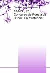 Portada de XXXVI 36º CONCURSO DE POESÍA DE BUBOK: LA EXISTENCIA