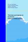 Portada de TÉNICAS QUIRÚRGICAS EN LA ARTROSIS TRAPECIOMETACARPIANA