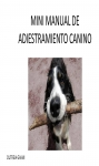 Portada de MINI MANUAL DE ADIESTRAMIENTO CANINO